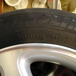 Reifen Mercedes C-Klasse W203